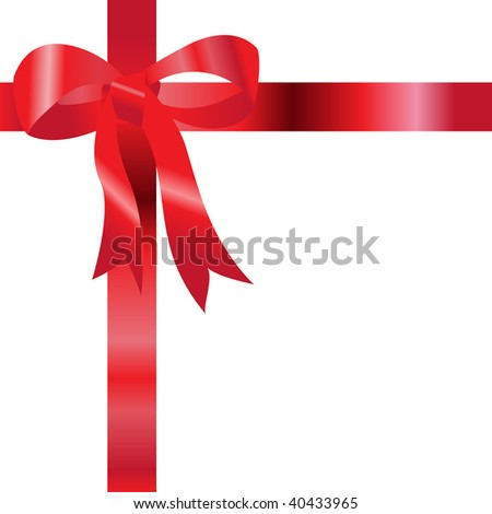 vector illustration, christmas gift, card concept, white background.