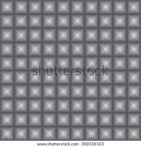 Vector illustration of a a seamless texture with squares. Optical illusion. EPS 8.