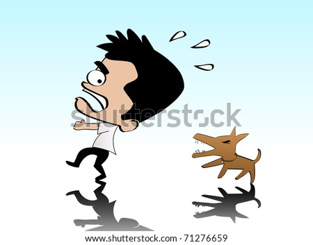 the fear of being chase by a dog For the past two weeks i've been having quite frequent and quite vivid dreams about being chased by dogsi have no fear of dogsi've grown up with dogs all my lifein the dream i feel intense fear and panic and i always wake up before being attacked what does this mean.