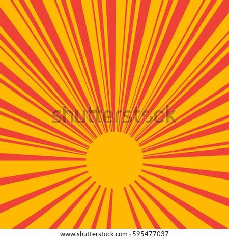 yellow rays vector - photo #47