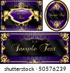 Vector Illustration of banner, poster or card templates. - stock vector