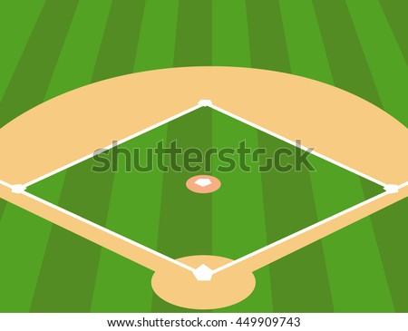 field wiring diagram illustration baseball diamond an overhead view stock ... #12
