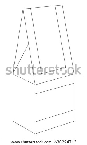 Squared Fastfood Box Blueprint Layout 171859514 together with 391602130084509681 also Halloween Pop Up Spiders And 3d Shapes additionally Stock Vector Retail Box With Die Cut Template together with 324685280 Shutterstock Four Bottle Carrier Box With Die Cut. on layout for hexagonal box