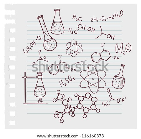 how to draw a science lab