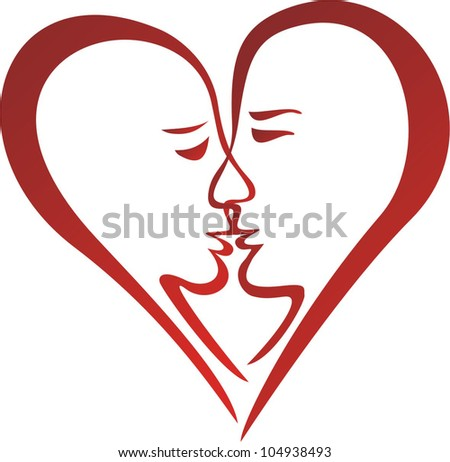 Vector illustration of love