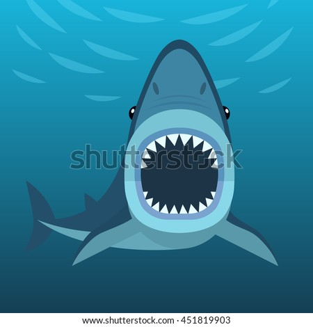 vector illustration shark open mouth full stock vector narwhal graphic t shirt narwhal graphic