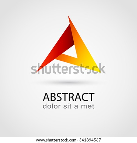 Vector logo design template.