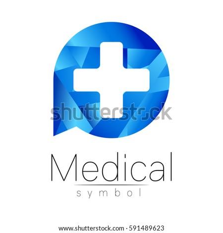 Medical Healthcare Logo Design Vector Health Stock Vector 338058293