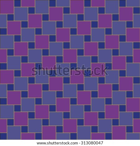 Vector modern seamless colorful pattern  shifted squares purple blue , color background,textile print, abstract texture,  fashion design, bed sheets or pillow pattern