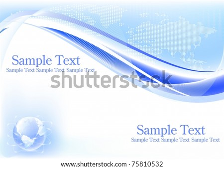 Vector of abstract business background