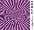 vector purple rays abstract grunge background - stock photo