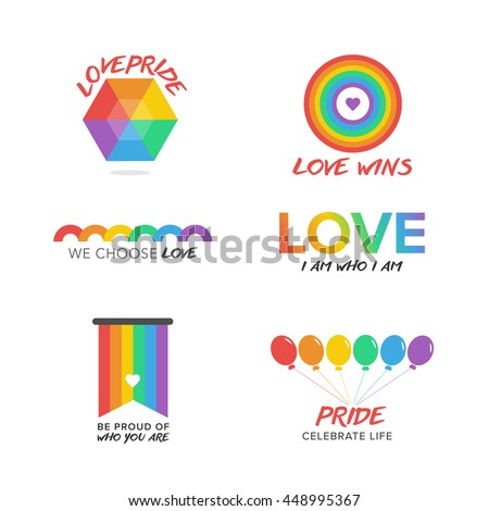 gay pride computer icons