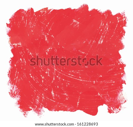 vector scratched red brush strokes background