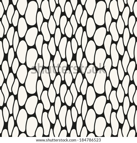 Vector seamless pattern. Modern stylish texture of mesh. Repeating abstract background