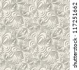 Vector seamless pattern. Modern stylish texture. Repeating floral background - stock vector