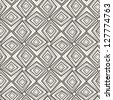 Vector seamless pattern. Modern stylish texture. Repeating geometric tiles - stock photo