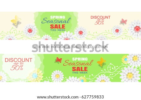 Set Of Three Valentine'-s Day And Spring Sale Shop Labels.Other ...