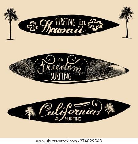 Shirts print etc freedom california hawaii typography poster