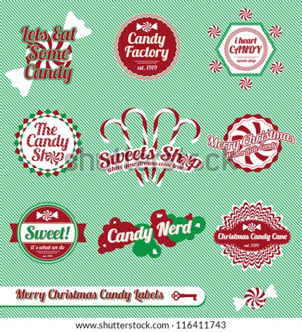 Vintage Illustrations Vector Vector Set Vintage Christmas