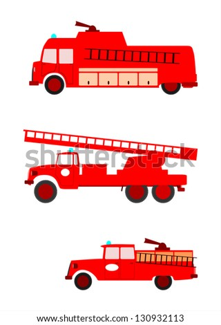 Vector side view of colorful retro silhouette fire for Key west fire department t shirts
