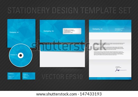 Vector stationary design template