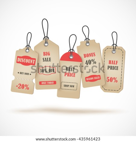 Price TagTemplate