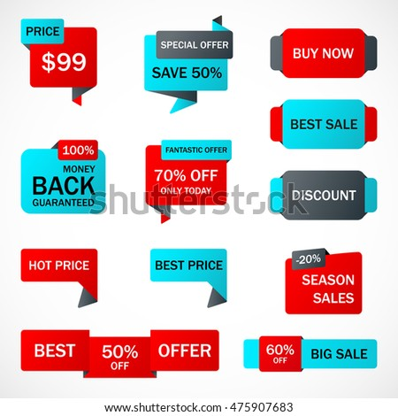 Sale Template Vector Design Eps 10 Vector 147267128 – Sale Tag Template