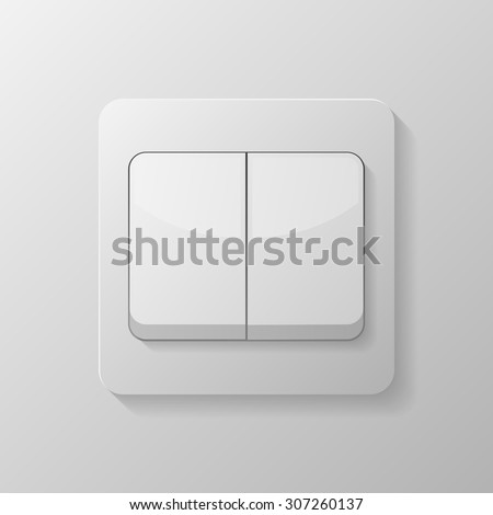 Vector Switch Icon Two Button