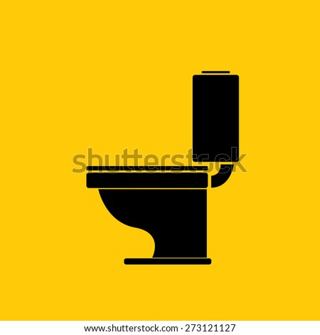 vector Toilet symbol  toilet sign  toilet bowl. Vector Toilet Symbol Toilet Sign Toilet Stock Vector 300847946