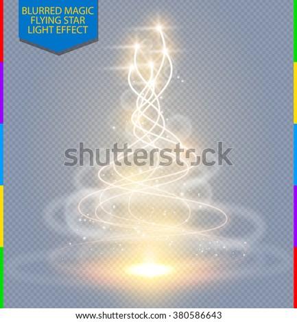 Circular Lens Flare Transparent Light Effect Vectores En