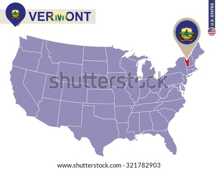 Vermont On Us Map My Blog Vermont Map Vermont Travel Maps From