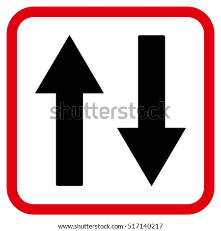 green red arrow up down stock vector 199965632 shutterstock