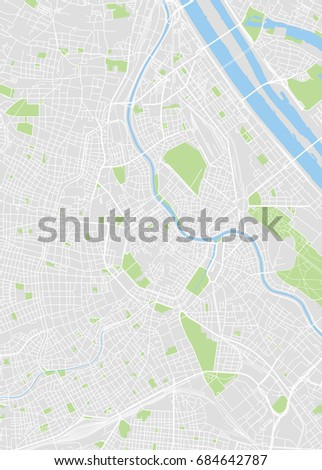 Vector map vienna district vectores en stock 531327178 shutterstock vienna colored vector map gumiabroncs Choice Image