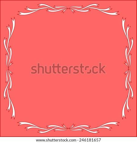 Two Vintage Frames Ornamental Borders Vector Stock Vector ...  Shutterstock Border Design Free Download