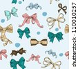Vintage Ribbons and Bows - stock