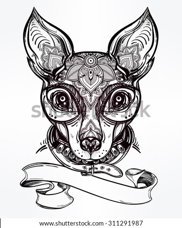 Hand Drawn Romantic Tattoo Style Ornate 451541497 moreover Deer 65552827 besides Baby Simba further Zentrader blogspot likewise How To Draw A Fox For Kids. on deer head painting
