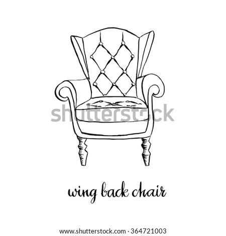 Set typical old stockholm houses sketchy stock vector for Chair design elements