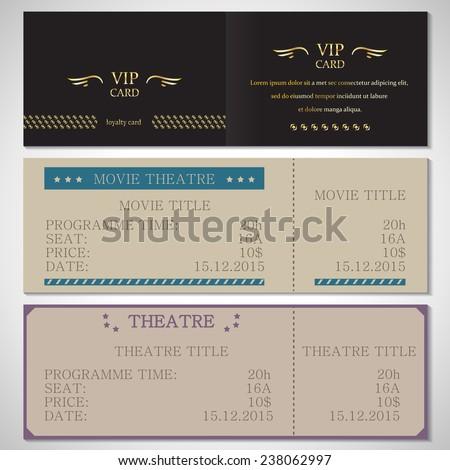 Raffle Ticket 3part Vector Template Vector 52212409 – Raffle Flyer Template