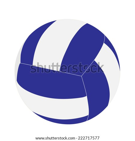 Volleyball ball, volleyball ball vector