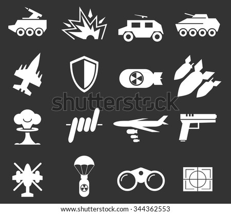 war symbol for web icons