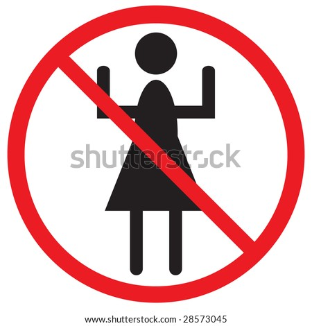 Throwing Trash This Area Prohibited Sign Stock Vector