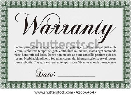 Warranty certificate template zesloka warranty certificate template apache openoffice yelopaper Image collections