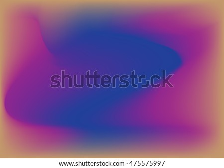 Wave on absract blue and purple background.Colorful wavy texture. Business Template
