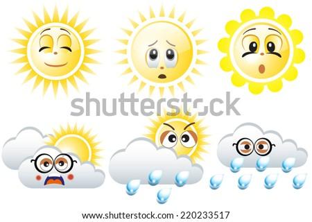 emoticons sunny cloudy - photo #7