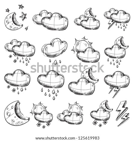 On a theme weather illustration vector eps10 stock vector weather