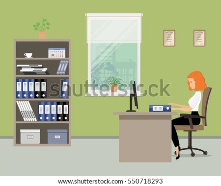pictures of an office. web banner of an office worker in the green room near window young pictures r