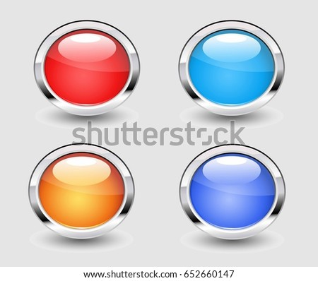 template color blank circle button badge stock vector 563769406 shutterstock. Black Bedroom Furniture Sets. Home Design Ideas