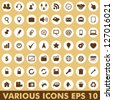 web icons collection - stock vector