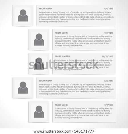 colorful number option banner stock vector 118455265 shutterstock. Black Bedroom Furniture Sets. Home Design Ideas