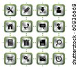 Website stylish icons set. Illustration vector. - stock vector